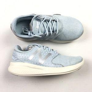 2ab92d7aec85 ... New Balance Coast Blue Big Kids Youth Shoes 1 Z43 ...